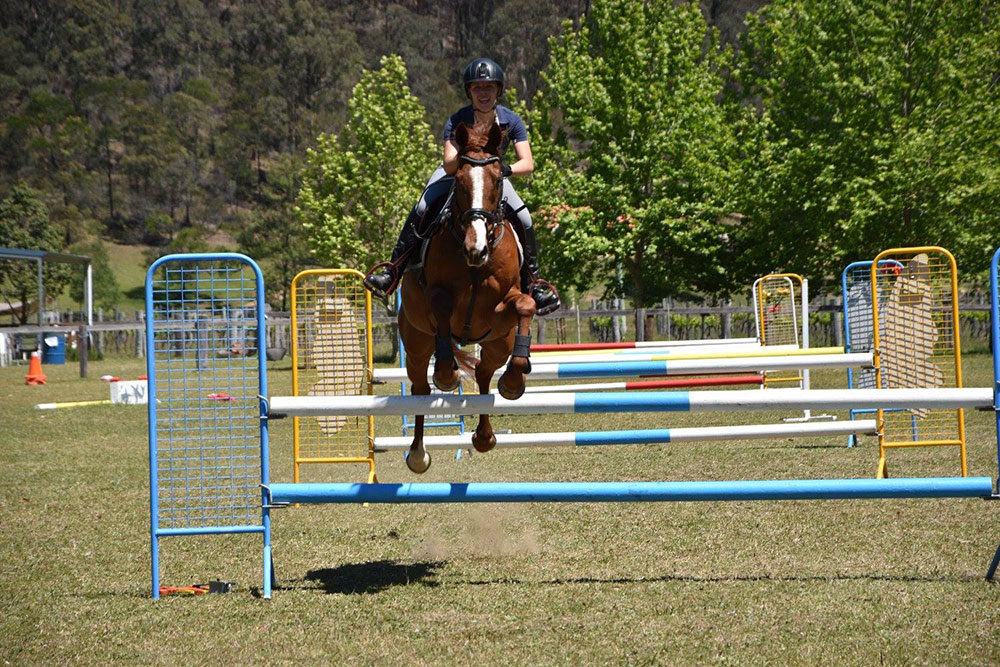 Showjumping and Dressage, Fernances Creek, Hunter Valley