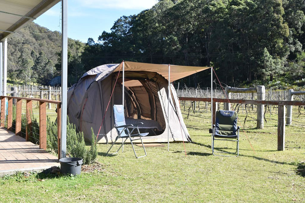 Farmstay Camping, Fernances Creek, Hunter Valley